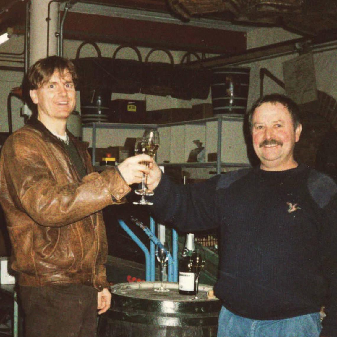 Vallier Robert en Champagne en 1990-2020