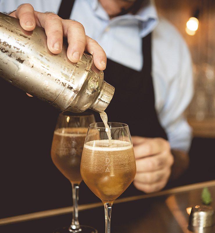 Agrotourisme Dégustation de cocktail au Domaine Acer