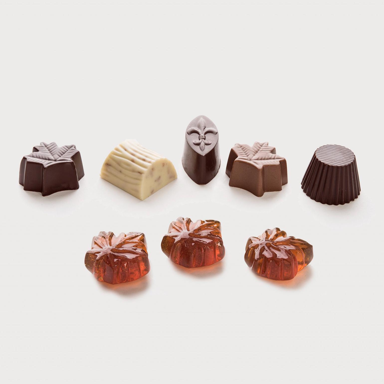 Chocolats et bonbons à l'érable du Domaine Acer