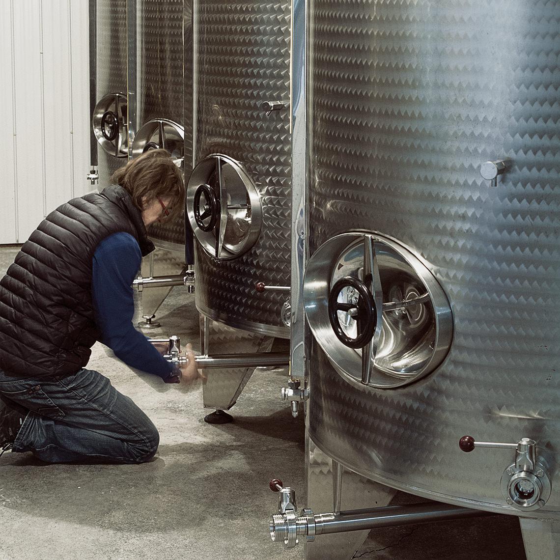 Vallier Robert Cuves de fermentation