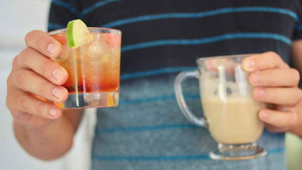 Mousse des bois cocktail au brunch